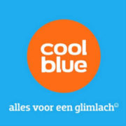 Cool Blue logo met slogan
